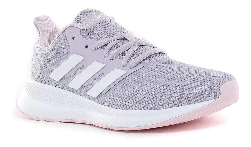 Zapatillas adidas Runfalcon Mujer Running Lila