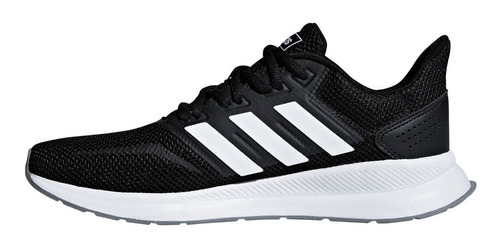 zapatillas adidas runfalcon running neg/bla de mujer