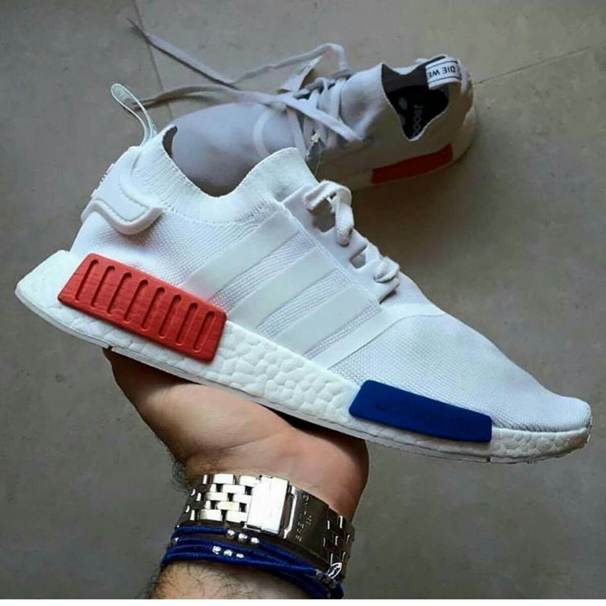 zapatillas nmd blancas