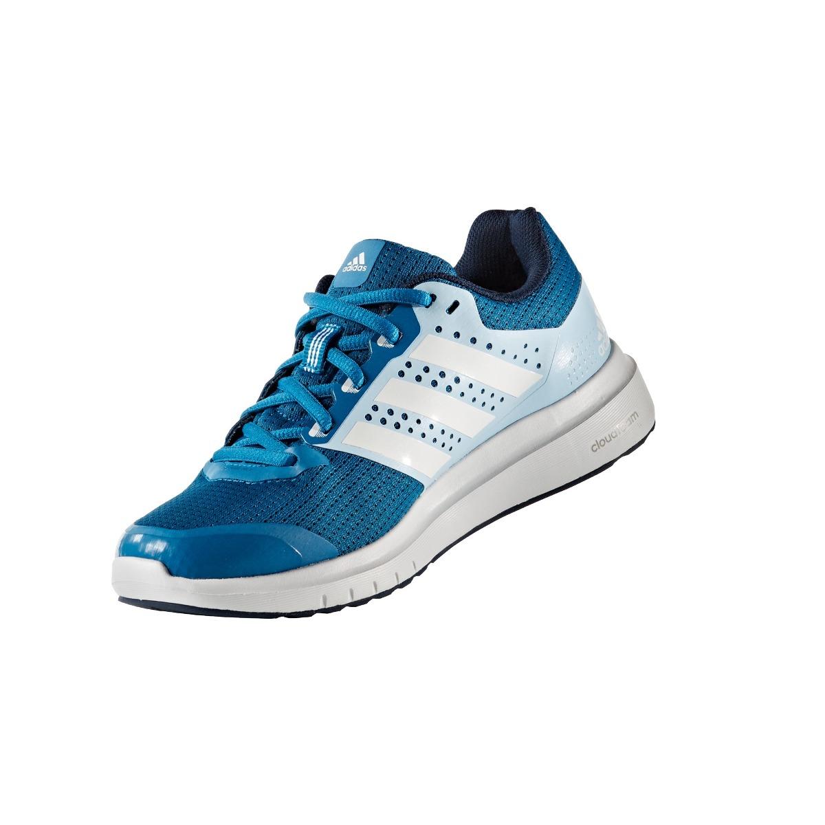 Zapatillas adidas Running Duramo 7 W Mujer Celeste Cblanco