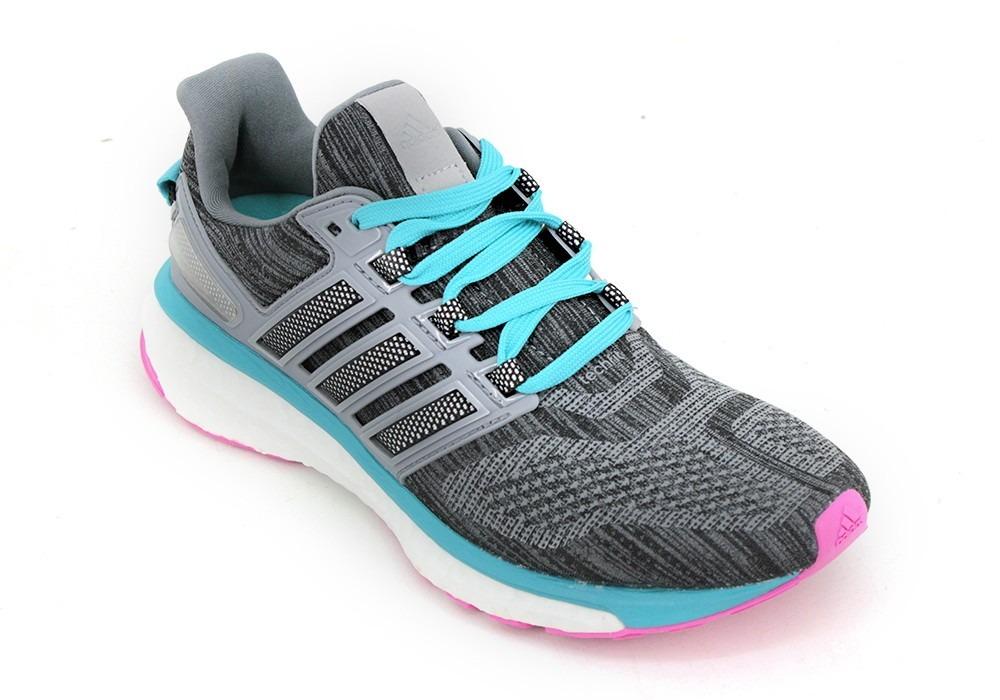 654dc8e7f8b zapatillas adidas running energy boost 3 gris dama deporfan. Cargando zoom.