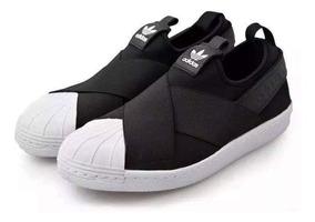 fecha de lanzamiento: nuevas imágenes de amplia selección Zapatillas adidas Slip On Negras