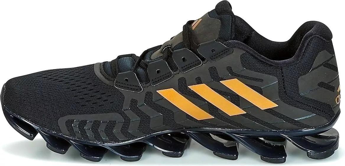 Zapatillas adidas Springblade Pr Negro y Dorado