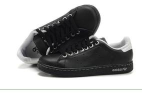 zapatillas adidas stan smith negras