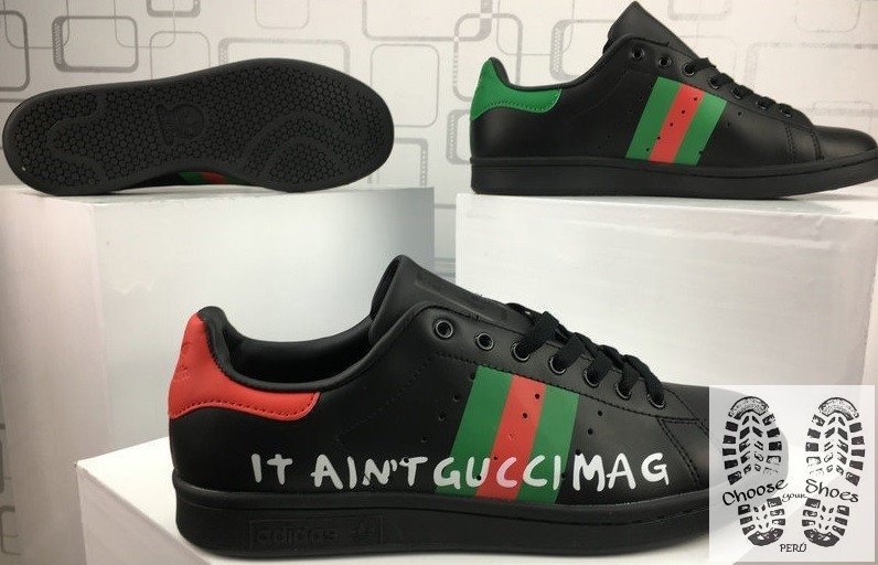 zapatillas adidas stan smith en caja no gucci superstar