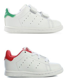 Zapatillas Adidas Originals Stan Smith BlancasNegras Niños