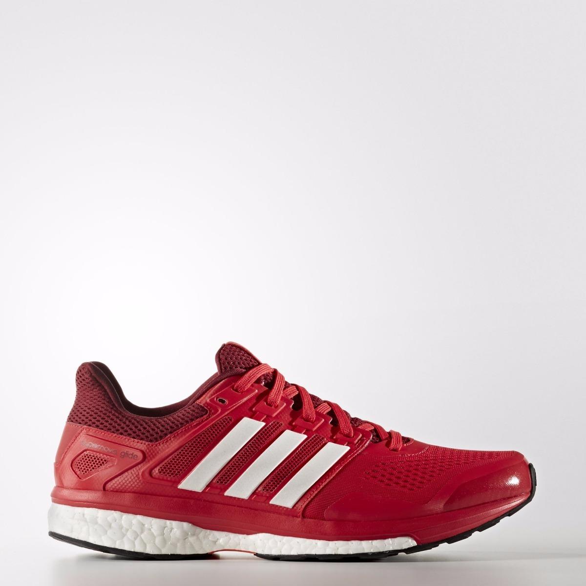 zapatillas adidas running rojas