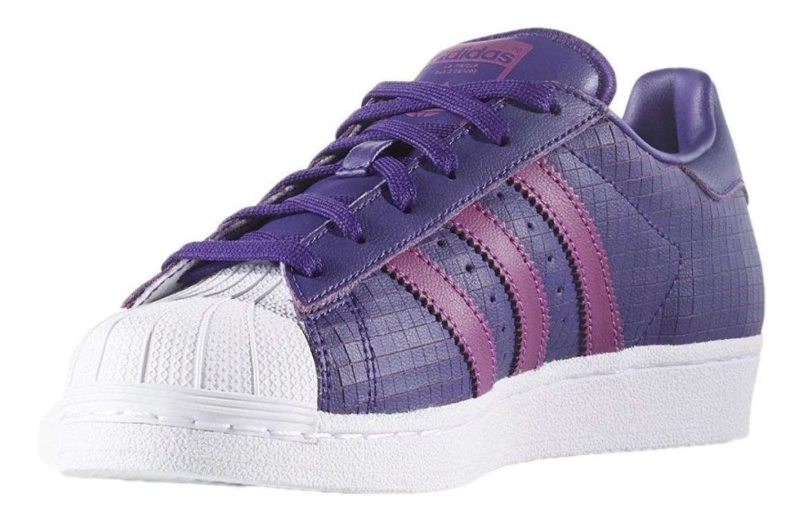 Zapatillas adidas Superstar 100% Orig Usa Cuero N* 38