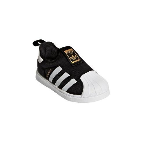 6db59c641 Zapatillas adidas Superstar 360 Negras De Bebés- Originals -   2.299 ...