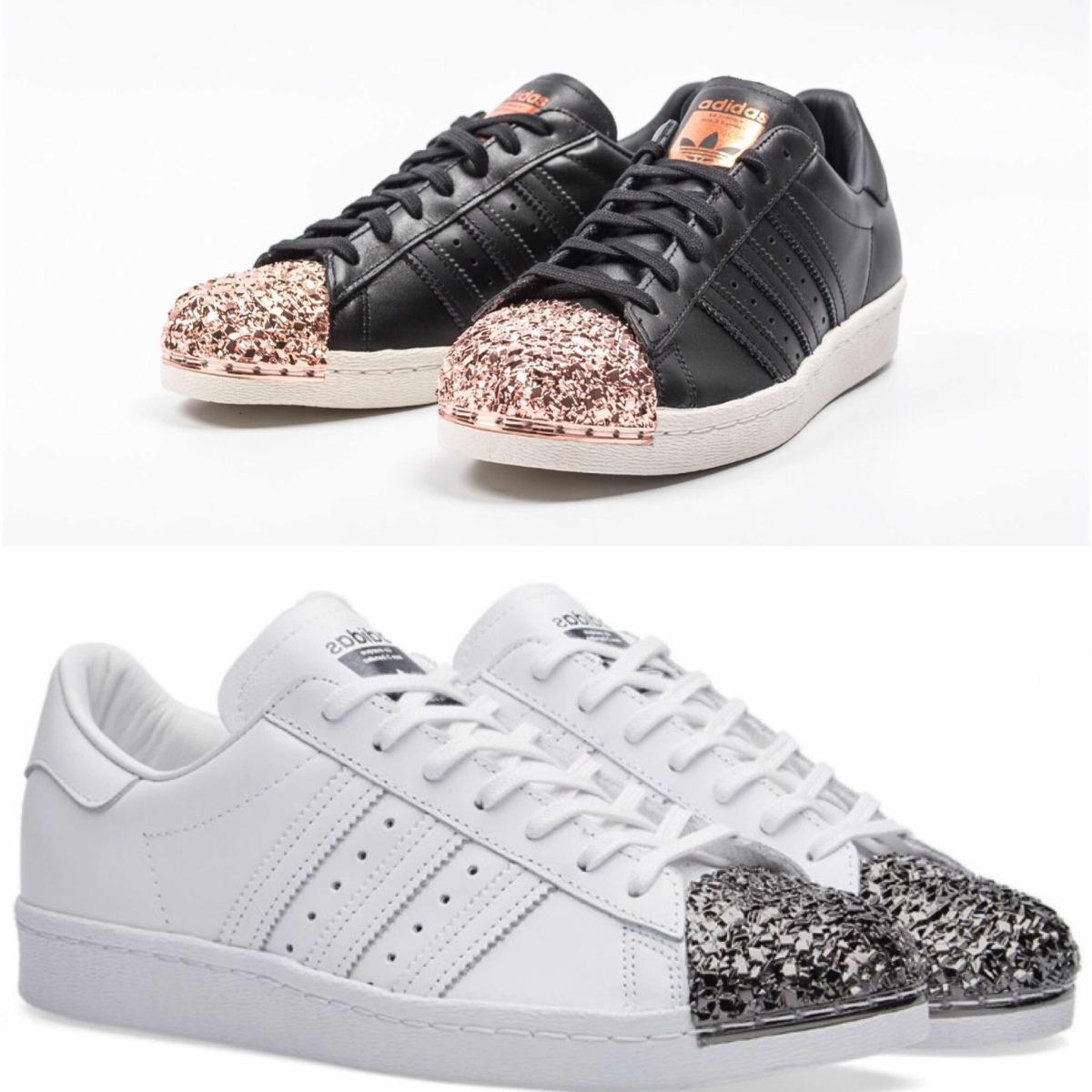 meet d95de 5cfa0 ... good zapatillas adidas superstar 80s metal toe negro y blanco. cargando  zoom. 9520f 94176