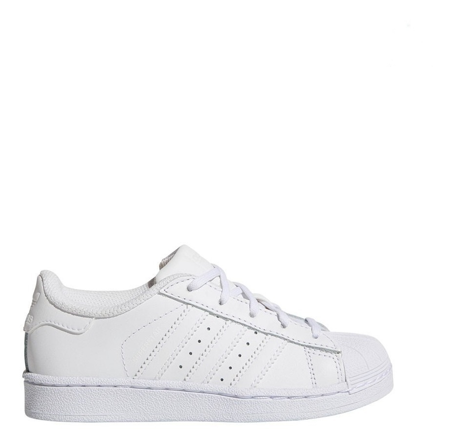 Zapatillas adidas Superstar Blancas 100% Originals Niños