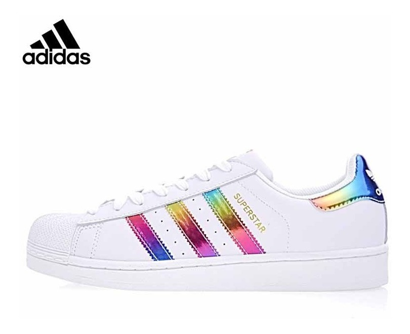 Zapatillas Adidas Superstar arcoíris de segunda mano por 20