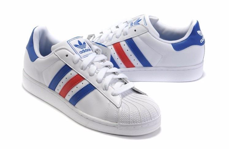 order adidas superstar mujer blancas y azules 87acb 089d2