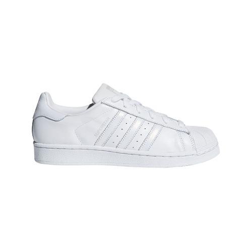 zapatillas adidas mujer super star blancas