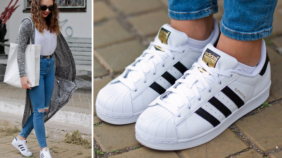 zapatillas adidas superstar blancas originales
