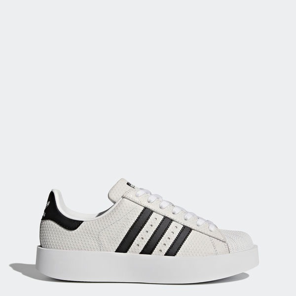 Zapatillas adidas Superstar Bold Grises Mujer Us 6.5 -   2.600 05d3d29a9bbdc