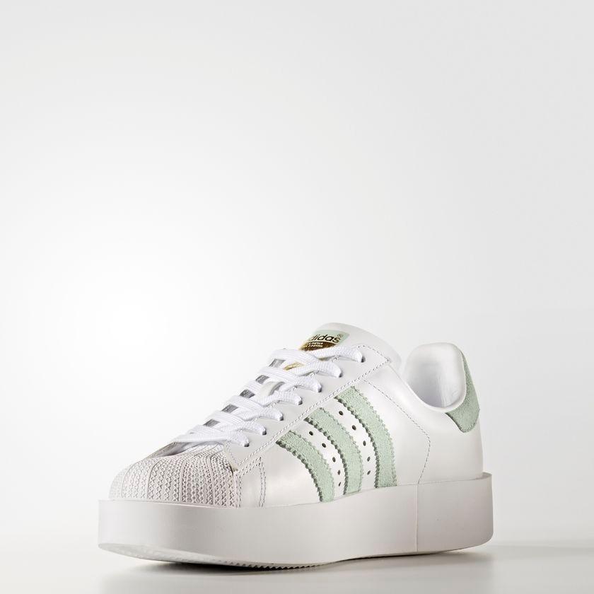 Nuevo Zapatillas Adidas SuperStar Bold Blanco BY2948