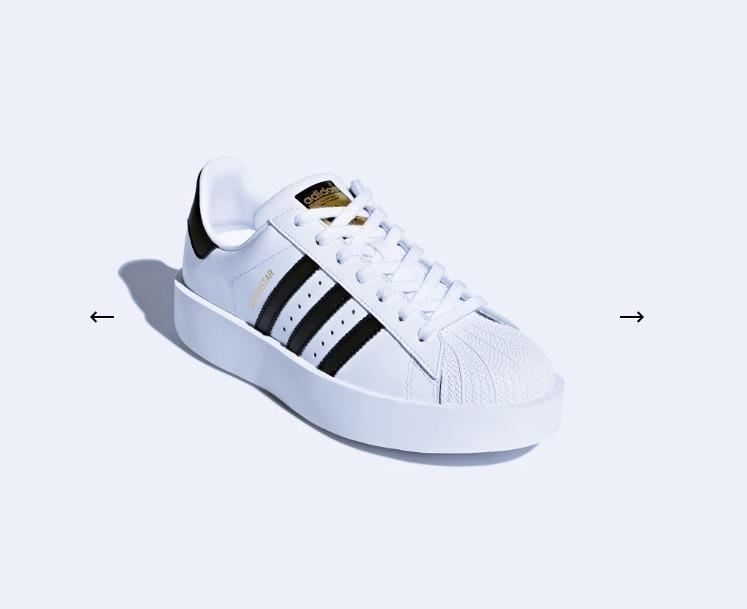 Zapatillas adidas Superstar Bold Platform Mujer Ba7666