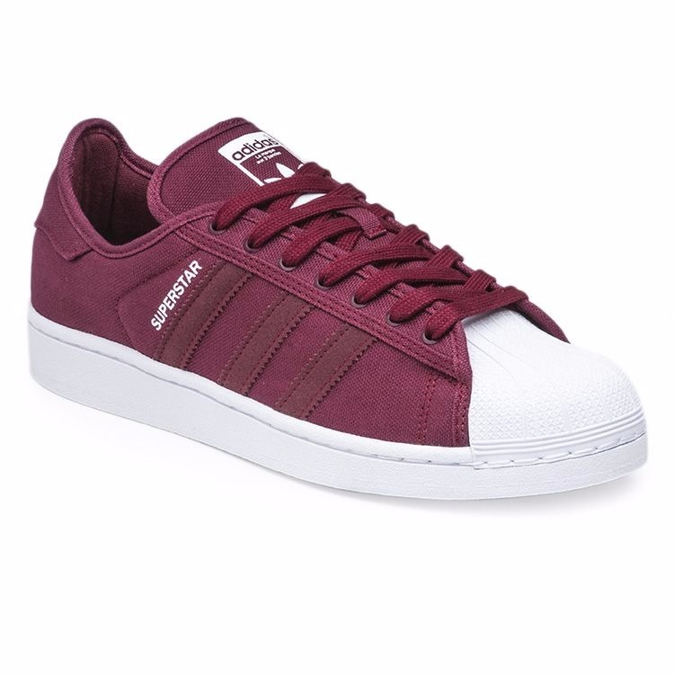 zapatillas adidas superstar rojas