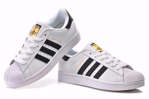 zapatillas adidas superstar + caja talles 34/43 envío gratis