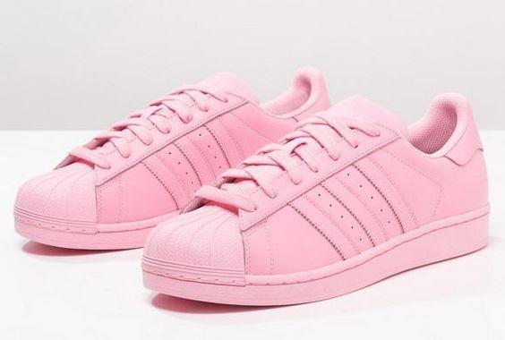 outlet store e2122 a9263 zapatillas adidas superstar dama color rosa