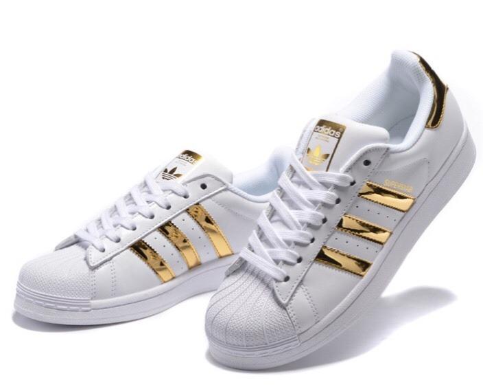adidas superstar originales doradas