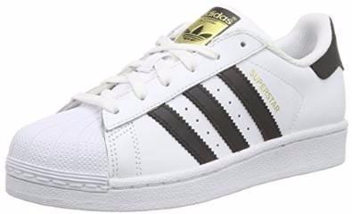 zapatillas adidas blanco y negro
