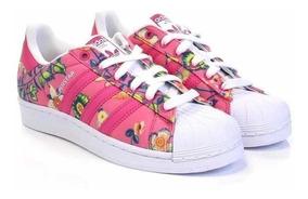 Mansedumbre Evaluación factible  adidas superstar floreadas - Tienda Online de Zapatos, Ropa y Complementos  de marca