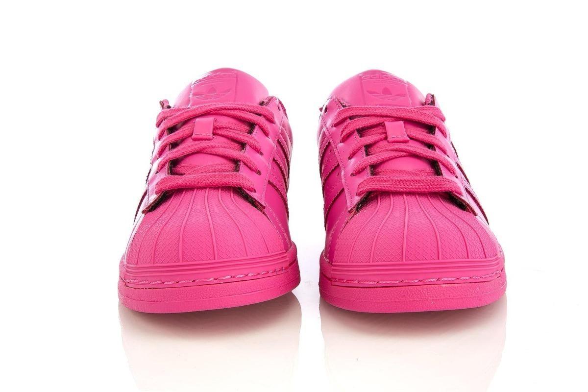 zapatillas adidas fucsia mujer
