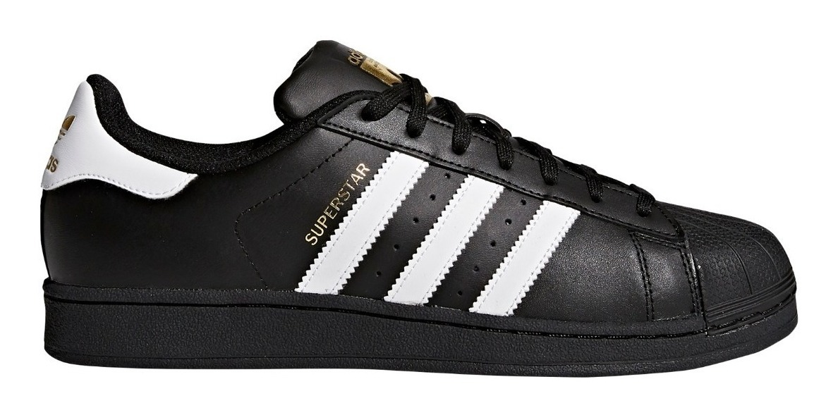 Zapatillas adidas Superstar Fundation Negbla Unisex