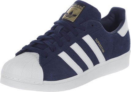87e54df2d88 Zapatillas adidas Superstar Gamuza Azul 100% Originales -   2.590