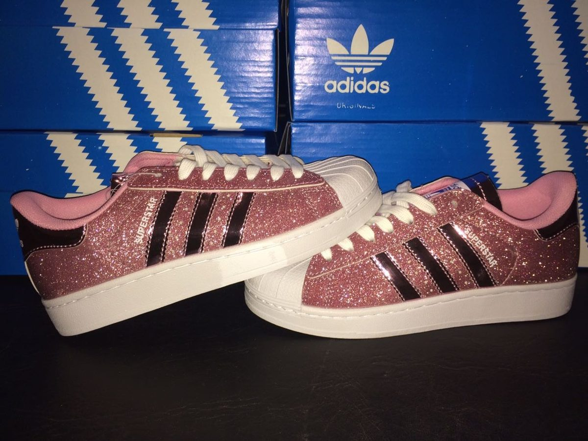 superstar glitter rosa