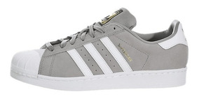 zapatillas adidas superstar grises