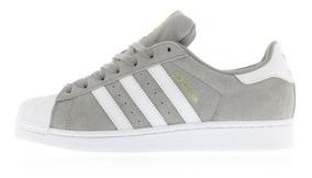 superstar adidas grises