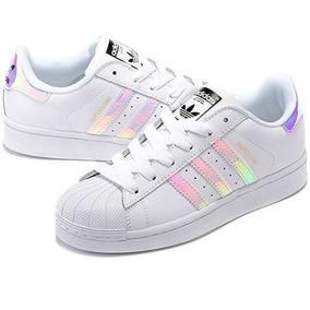 Zapatillas adidas Superstar Holograficas Hermosas
