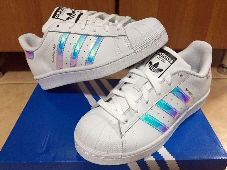 huge discount cb1ad b519c zapatillas adidas superstar hologram tornasoladas y otros