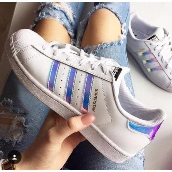 b5e2ebaa47b Zapatillas adidas Superstar Hologram Tornasoladas Y Otros -   3.389 ...