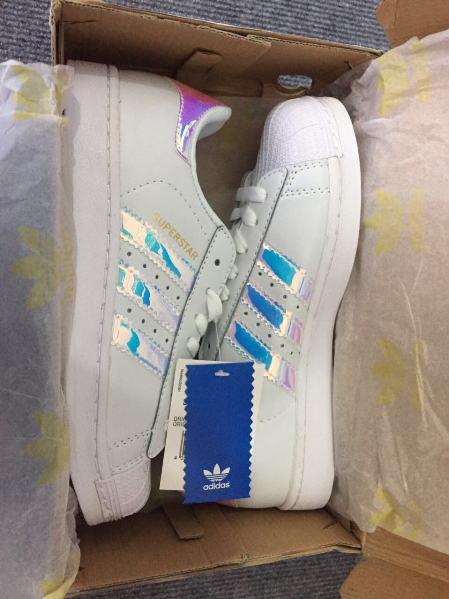 Zapatillas adidas Superstar Holographic En Stock 38