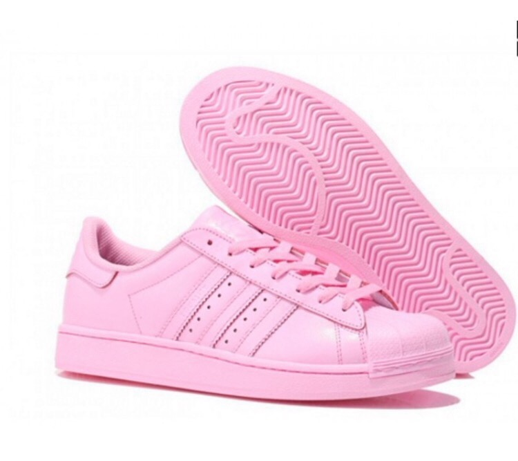 adidas superstar mujer rosados