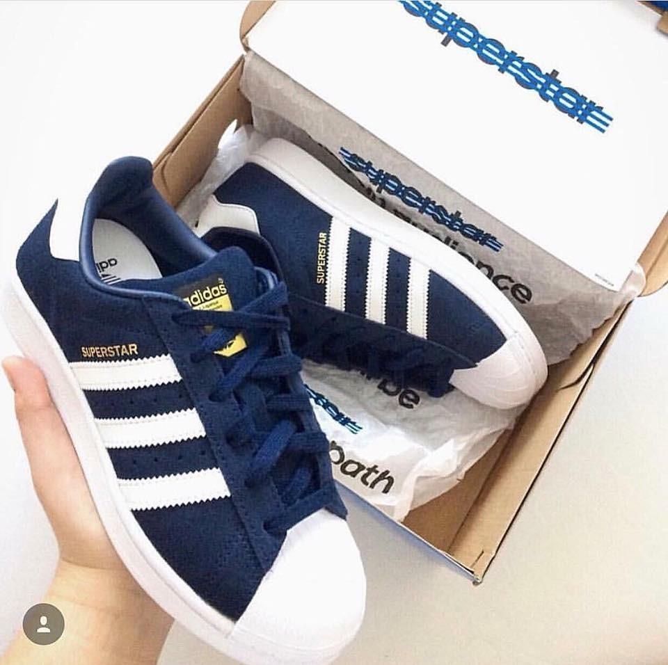 Zapatillas adidas Superstar Negra Blanca Tornasol Envio Free ... 96d1c4da85599