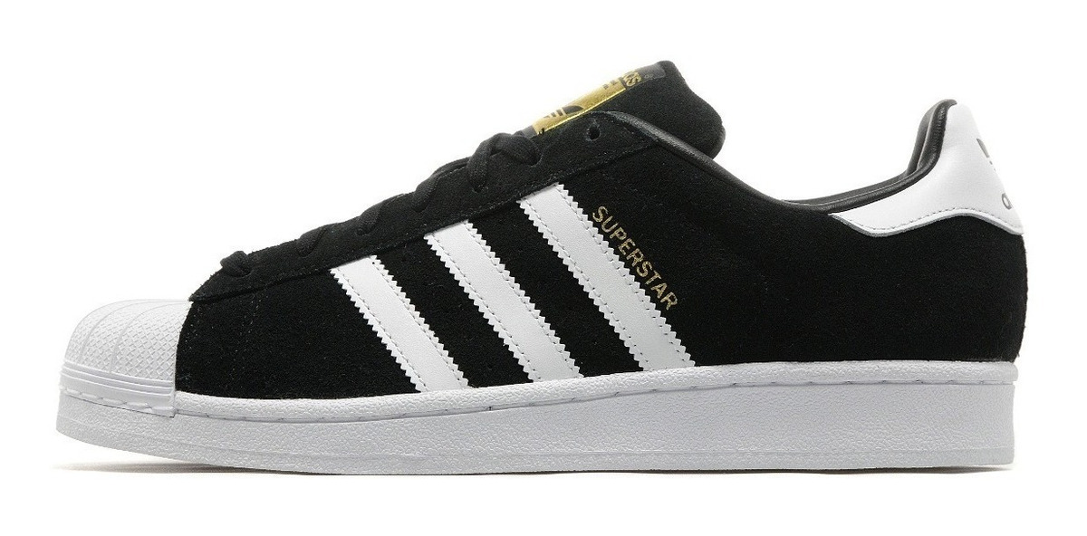 Zapatillas Adidas Superstar Negras W Zapatillas en Mercado
