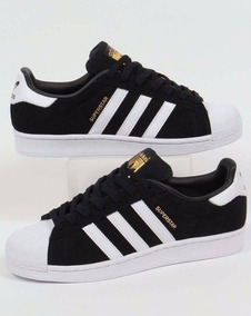 zapatillas superstar adidas negras