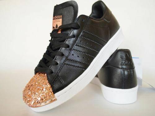 zapatillas adidas negras con dorado mercadolibre