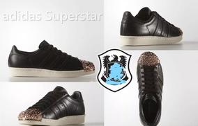 zapatillas adidas superstar mujer negras