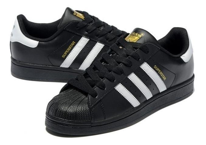 2zapatillas adidas superstar negras