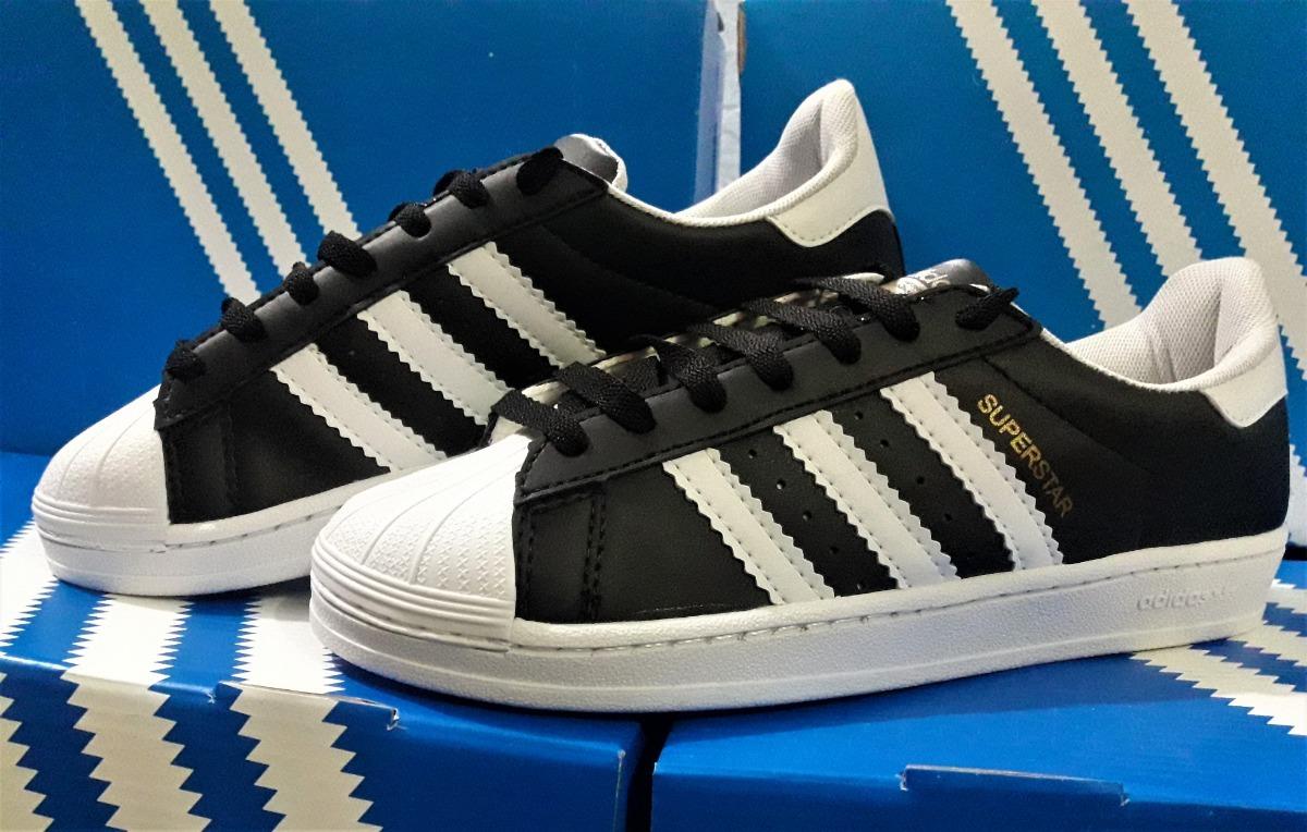 huge selection of b7543 d27aa zapatillas adidas superstar negro y blanco envio sin cargo. Cargando zoom.