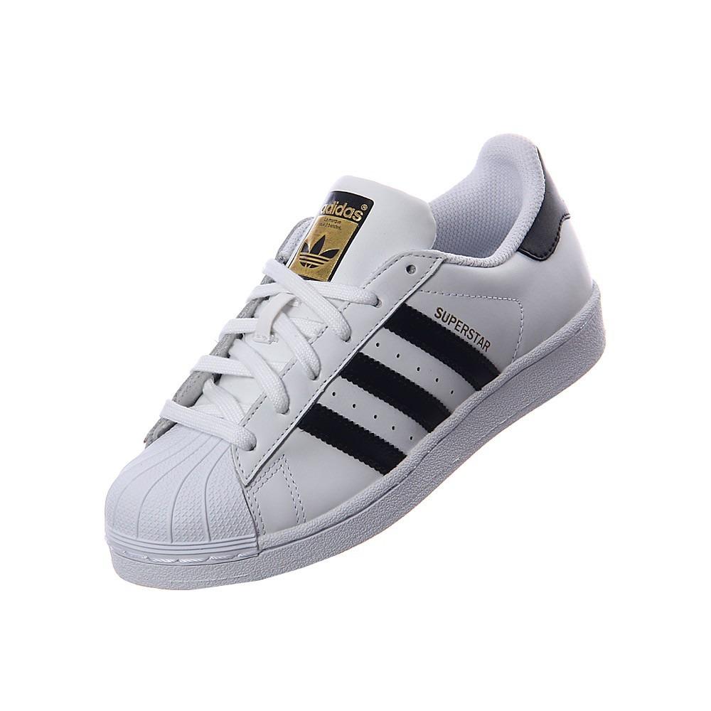 zapatillas adidas superstar niña blancas