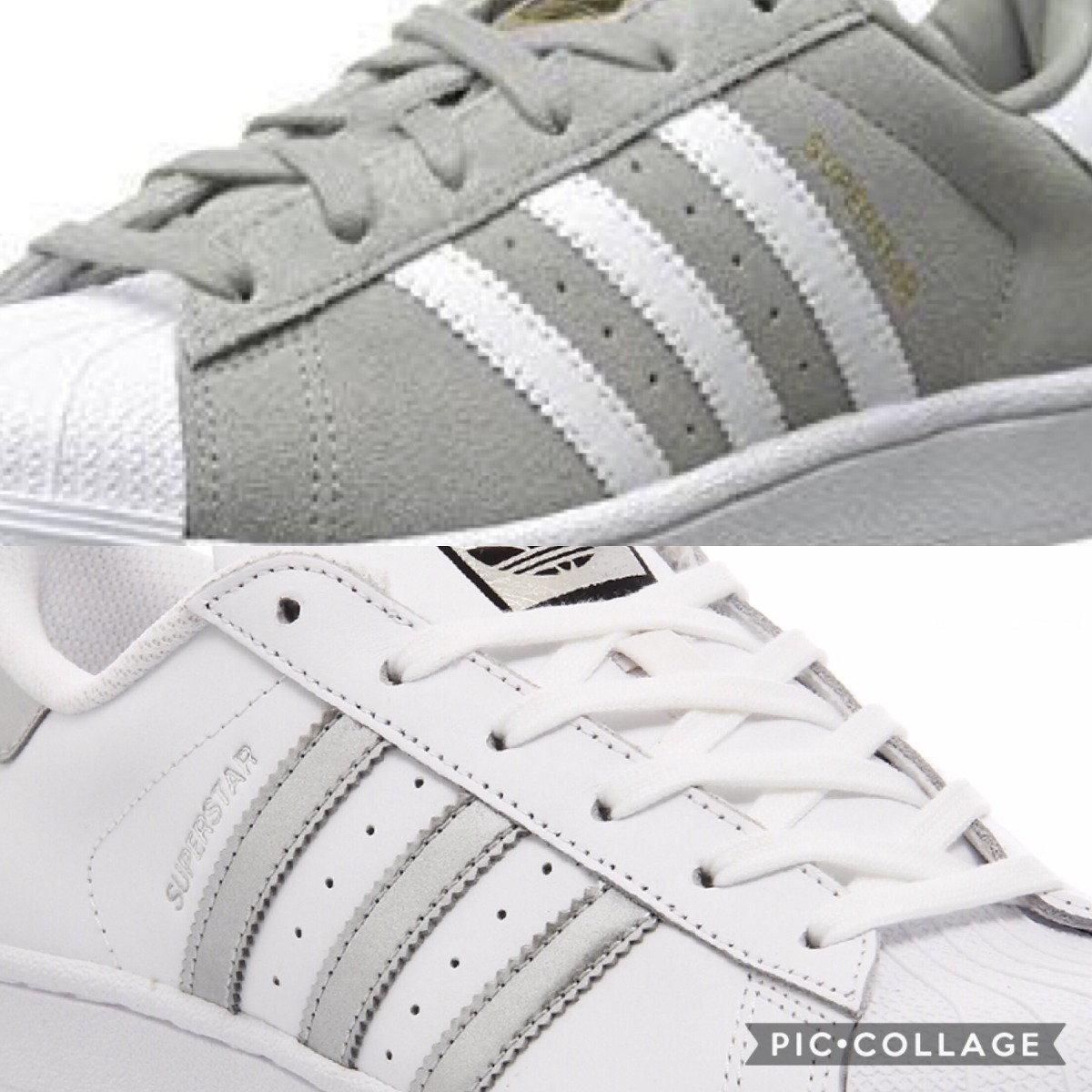 zapatillas adidas superstar plata