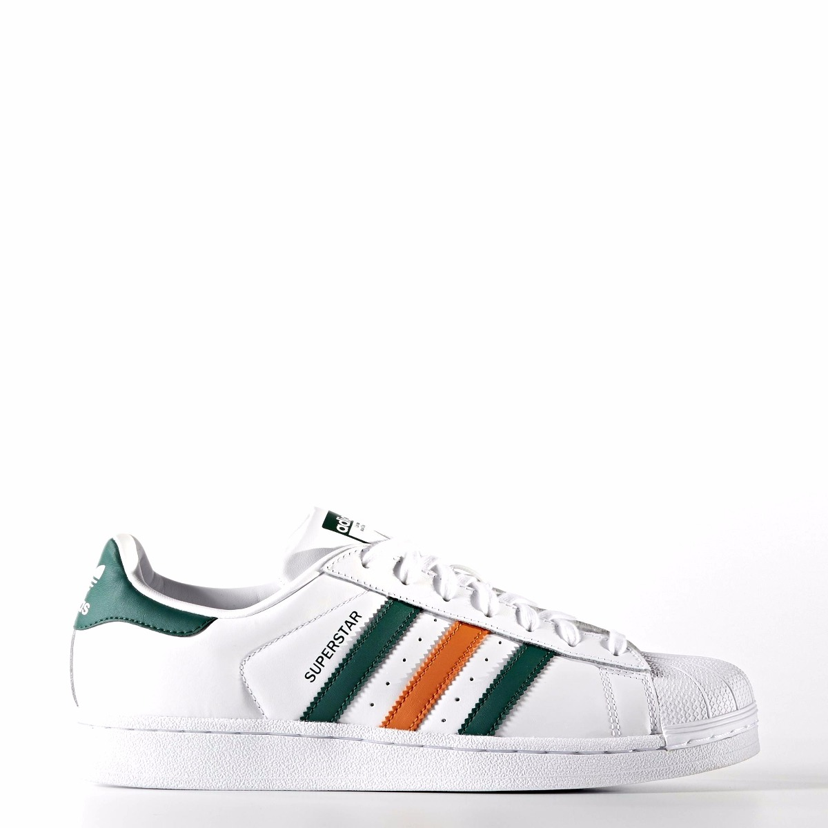 zapatillas superstar verdes