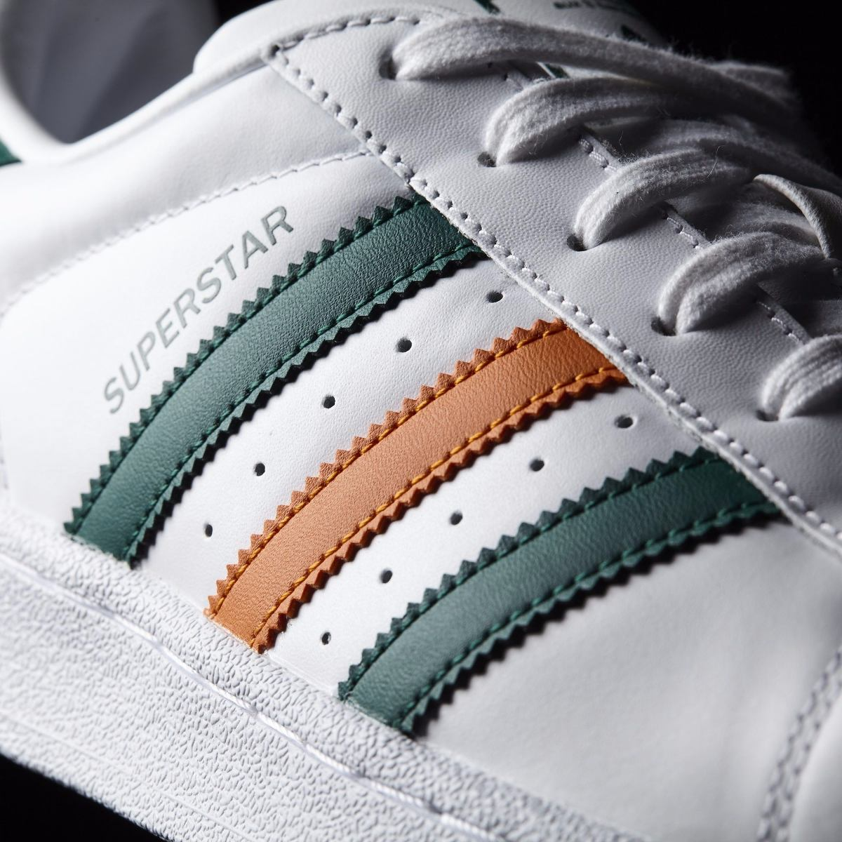 a70b995747 ... switzerland zapatillas adidas superstar original verde naranja. cargando  zoom. e83b9 fc1cb